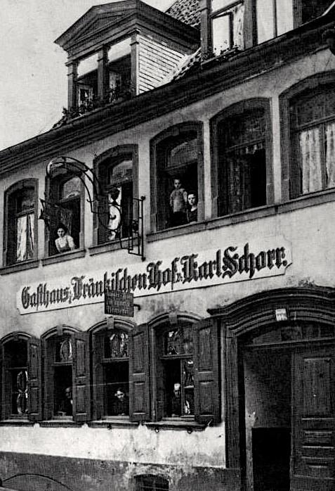 Gasthaus Fränkischer Hof Karl Schorr