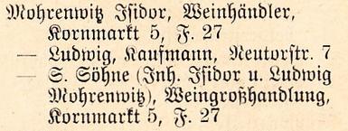 Adressbuch 1921