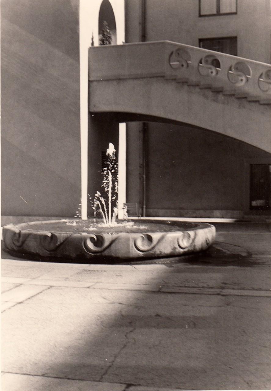 Brunnen im Rathausinnenhof