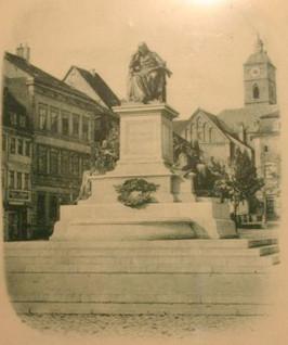 Friedrich-Rückert-Denkmal ca. 1897