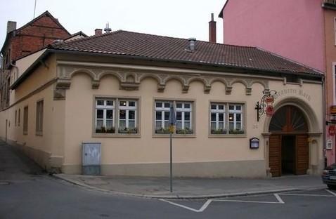 Das verbliebene Erdgeschoss im Jahr 2007