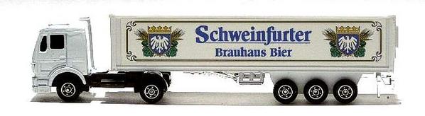 Schweinfurter Brauhaus  Truck Nr. 02 Modellname/-typ: MB 1320 SZ