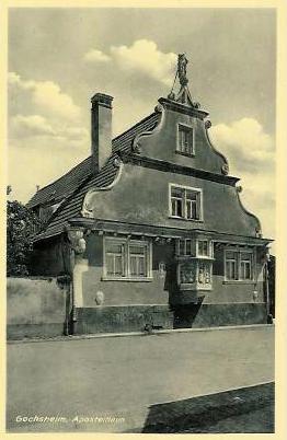 1948 - Apostelhaus, Mönchsgasse 19, Renaissancebau von 1612