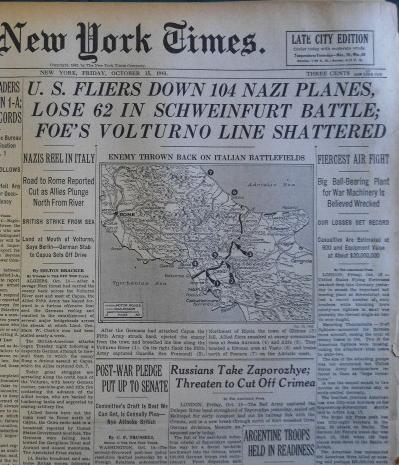 Bericht New York Times 15.10.1943