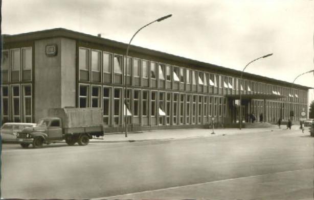 Der Hauptbahnhof Anfang der 1950er