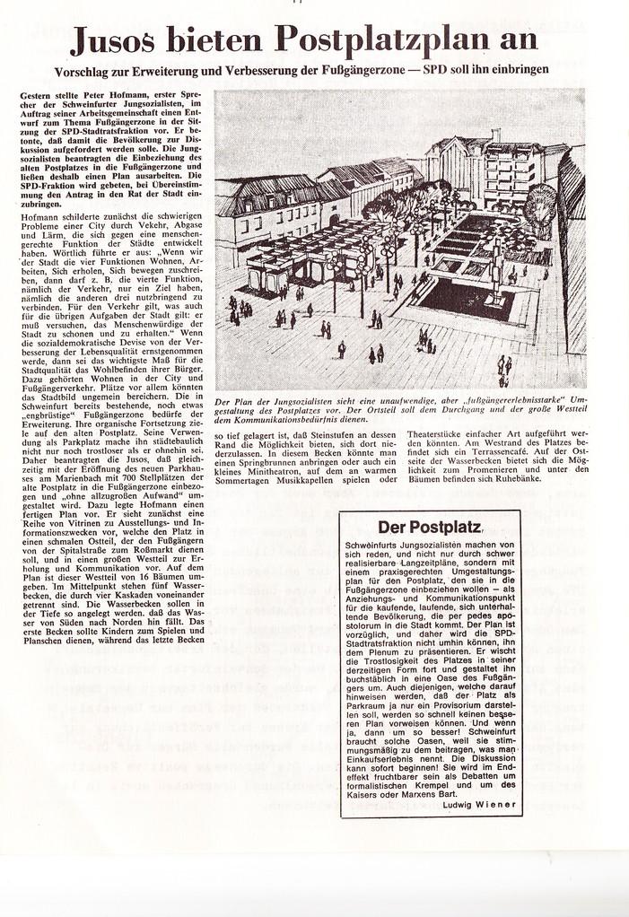 Artikel Schweinfurter Tagblatt 1972