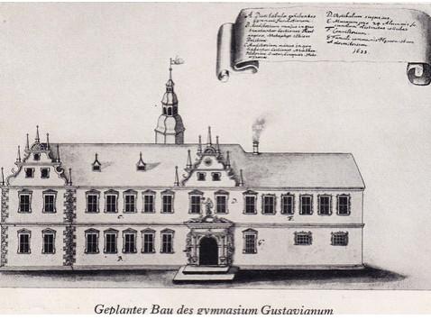 ursprüngliche Planung Gustav Adolphs
