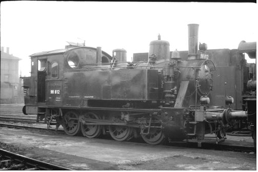 DB 98 812 Bw Schweinfurt 31.8.66