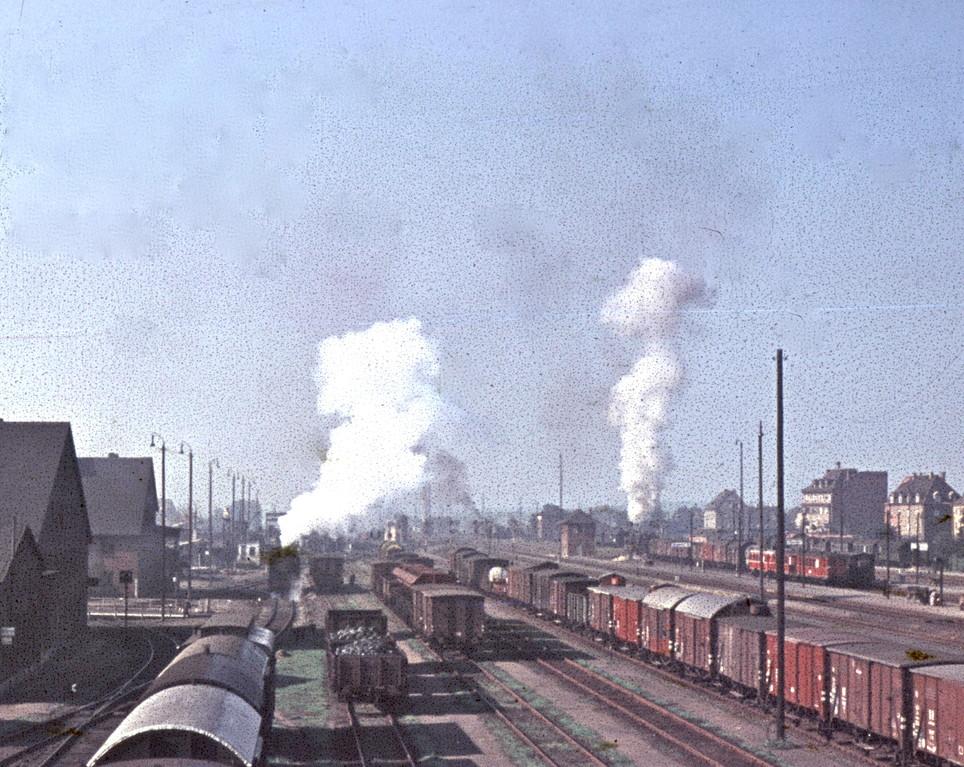 Hauptbahnhof um 1960
