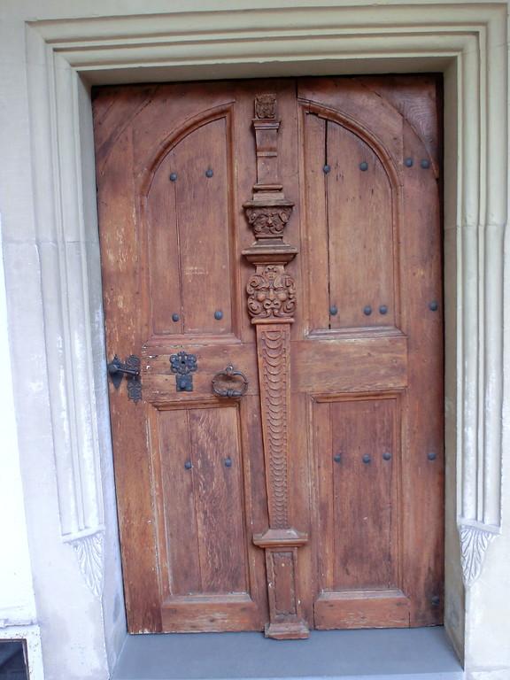 Tür vom Innenhof