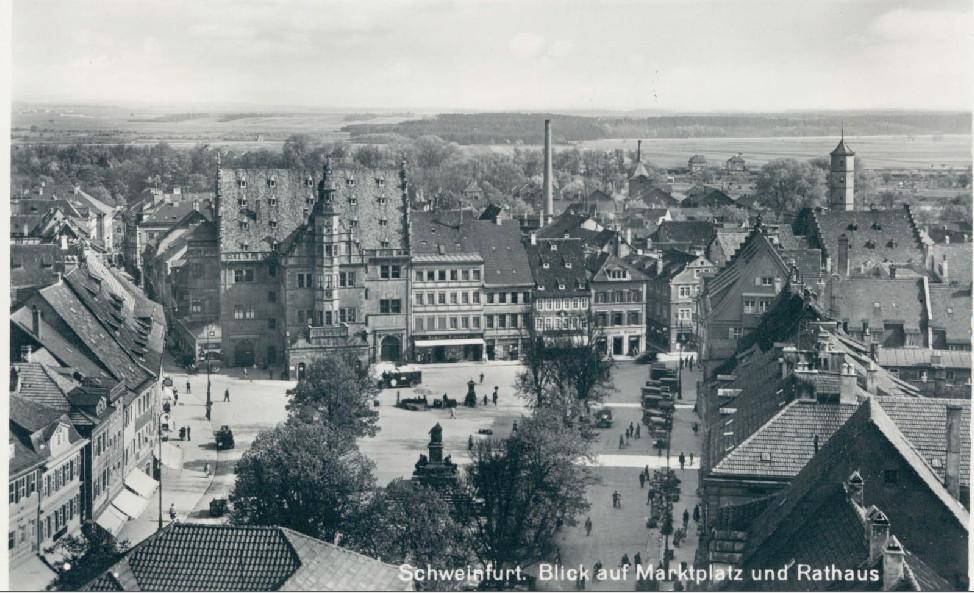 Marktplatz um 1934