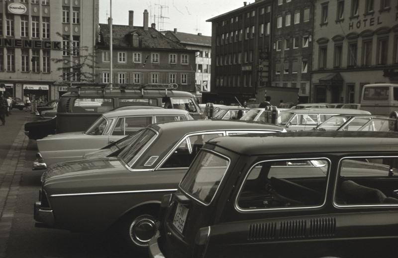 Der Postplatz 1972