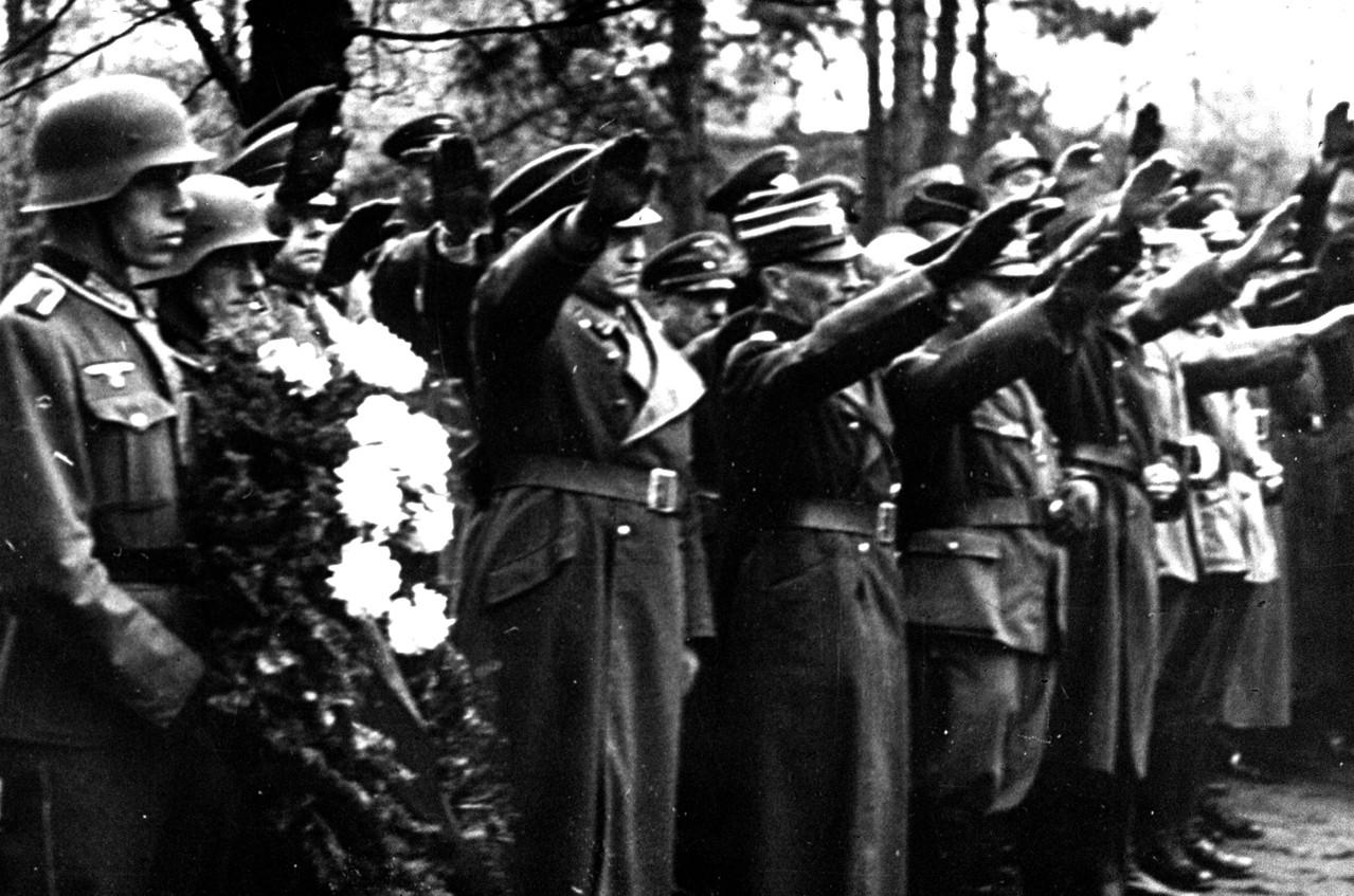 Schweinfurt Memmel Trauerkranz 1943