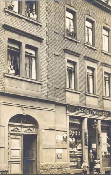 Sattlerstraße 3-5 Tante-Emma-Laden Freiberger