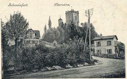 Die Peterstirn auf einer alten Postkarte um 1915