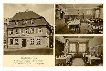 1935 - bereits unter der Wirtschaftführung des Nachfolgers Alfons Seufert