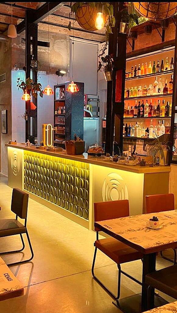 Resultado de imagen de decoracion industrial restaurante