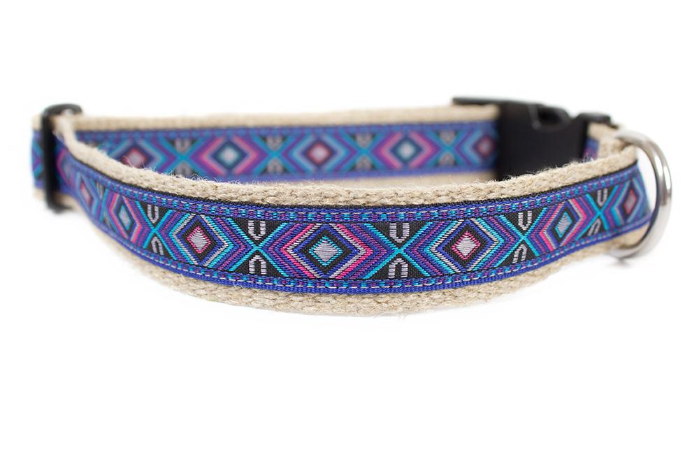 """Halsband """"Apache blue"""" von my*luni"""