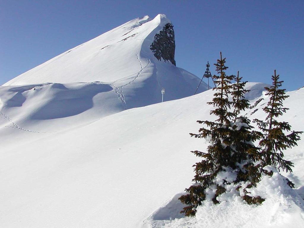 Gottesacker-Scharte im Winter