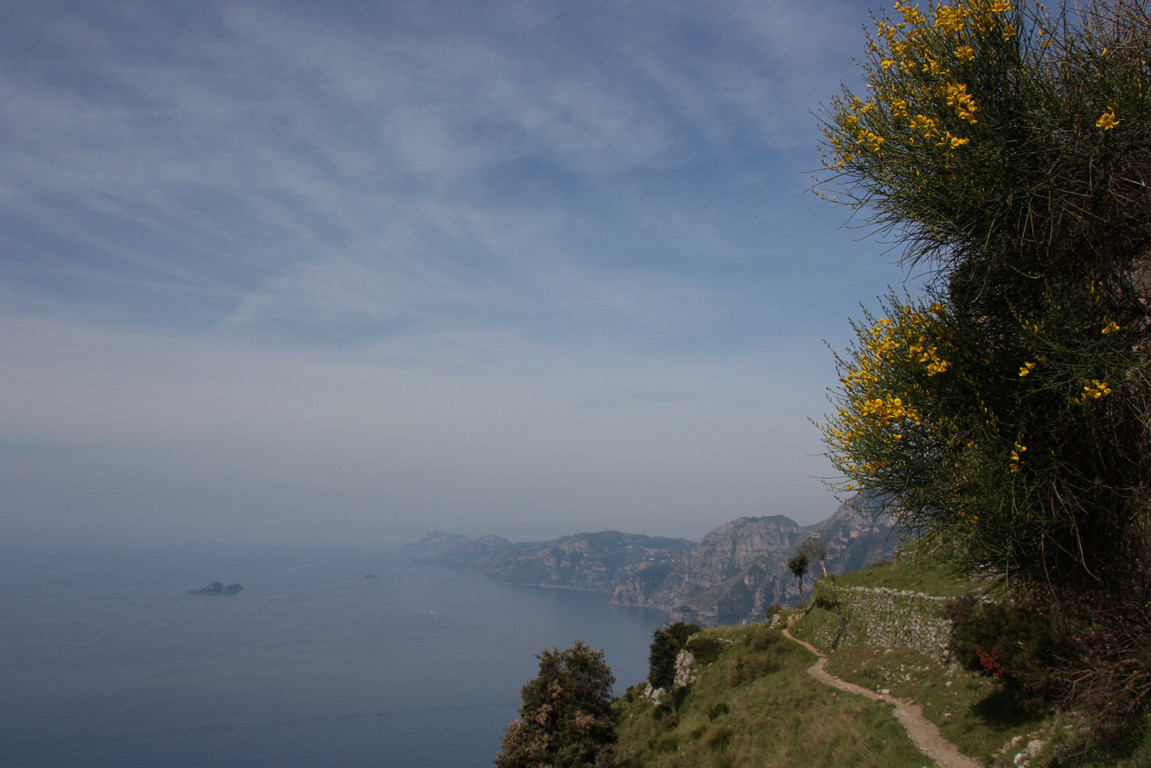 Piekny i bardzo malowniczy szlak