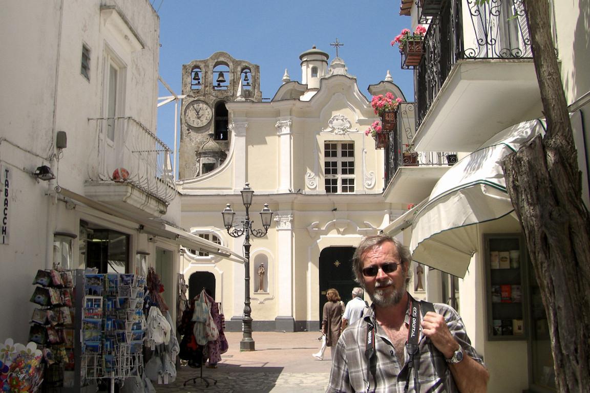 spacer ulicami Anacapri