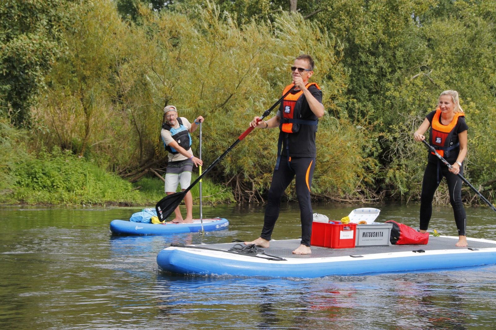 Ilmenau | Support MEGA-SUP-Tour Nature Guides