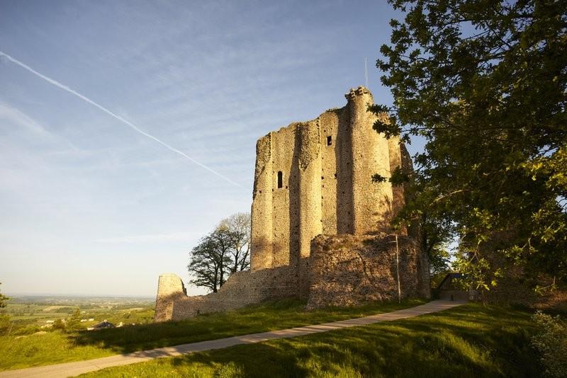 Le château de Pouzauges
