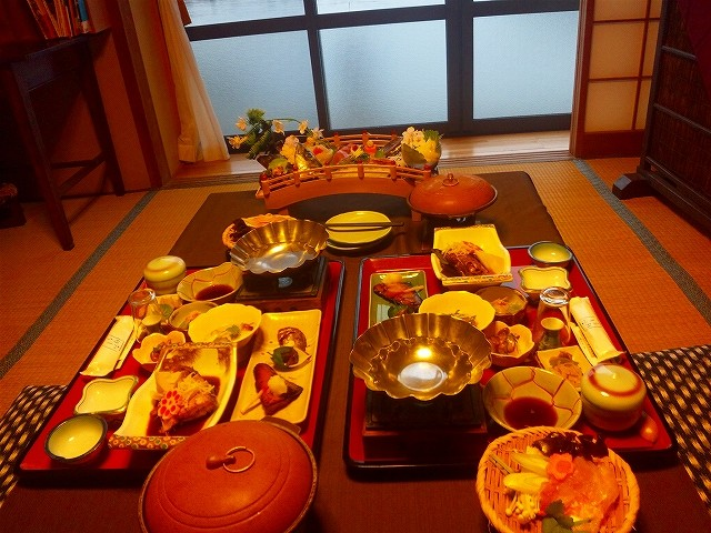 個室でのお食事