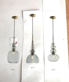 Lichtberatung - kundenspezifische Zusammenstellung CARNIVAL Glasleuchten von Light4