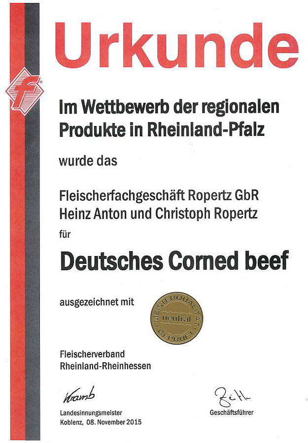 Deutsches Corned beef
