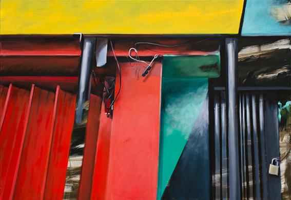 Schloss, 2020, Öl auf LW, 110 x 160