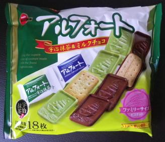 小腹が空いた 札幌 アルフォート 宇治抹茶