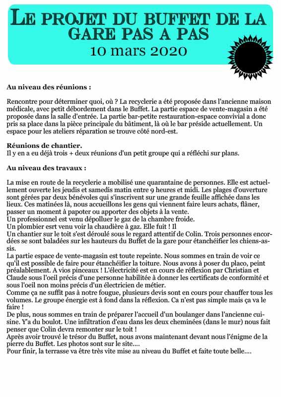 Chronique au 10 mars 2020 page 1