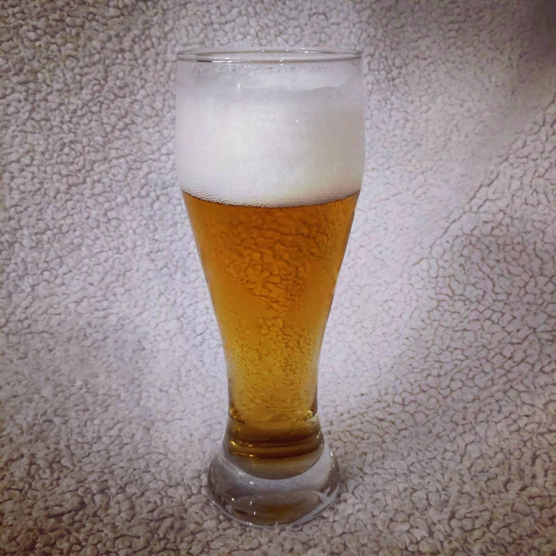 Un verre  de blonde, ça donne envie