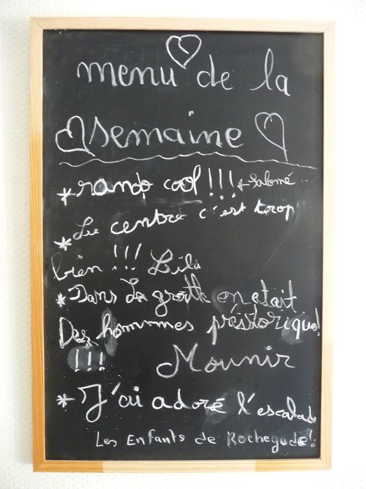 Fun menu!