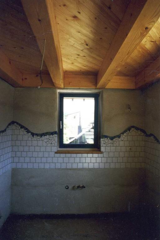 in der Küche auch mal ein wenig Mosaik
