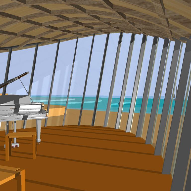 das Zimmer des Komponisten
