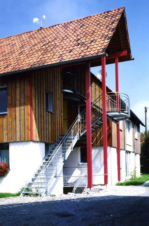 das Treppenhaus: kostensparend, pflegeleicht, warum nicht immer so