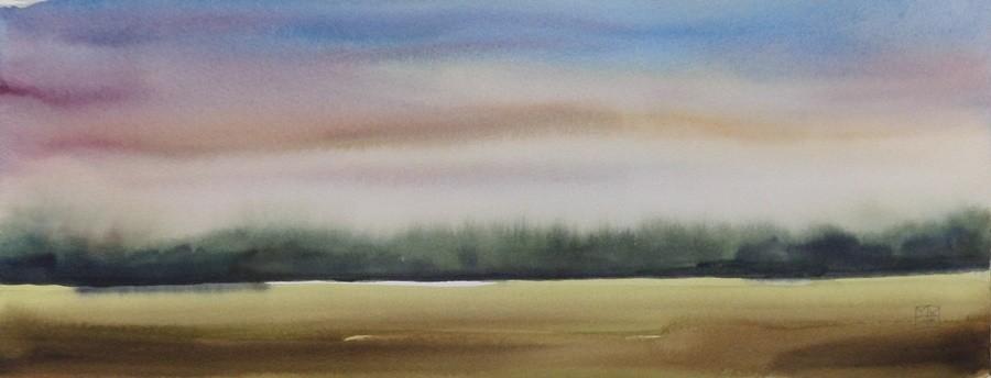 landschaft 2014, 18x35 cm