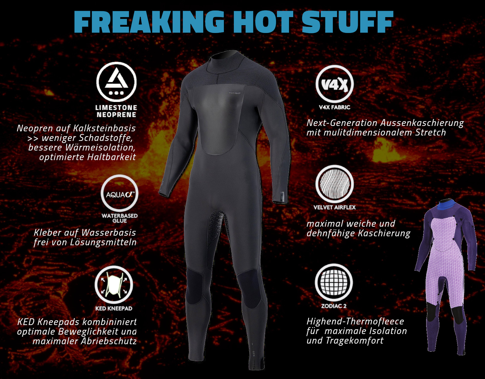 HOT STUFF // PROLIMIT MAGMA // Dedicated Windsport Wetsuit