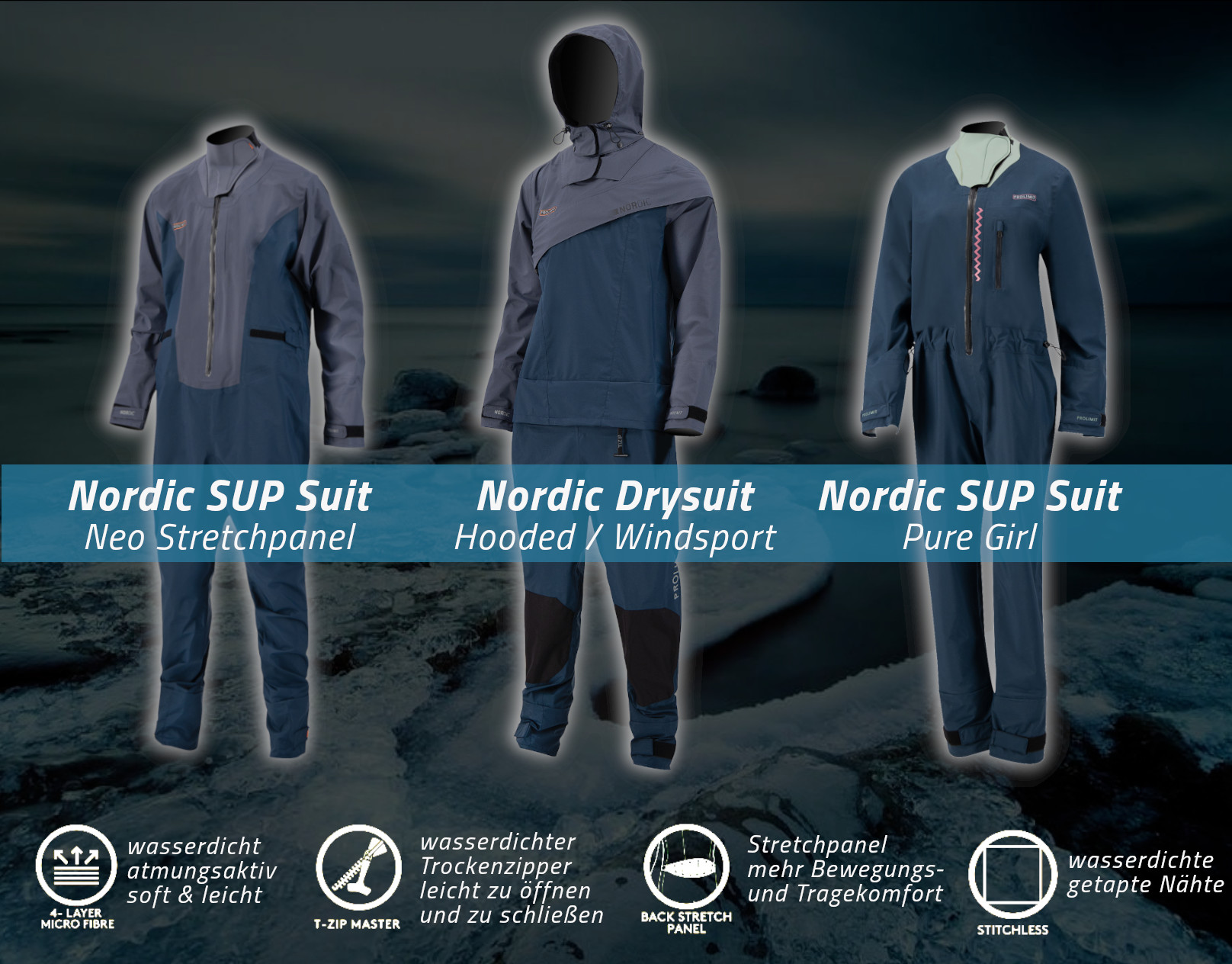 PROLIMIT NORDIC DRYSUITS // Making cold the new warm