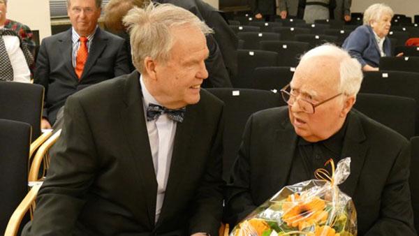 Hartmut Wettges und Hans-Ulrich Sauer (v.l.)