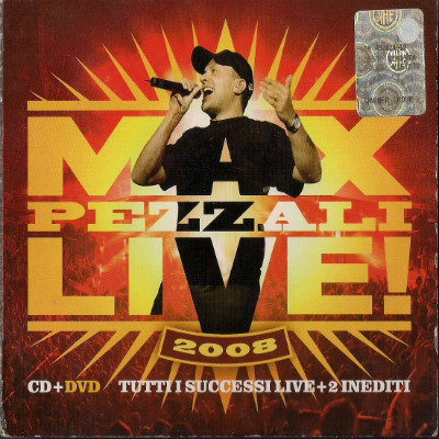 2008 - Max Pezzali Live 2008 - DVD