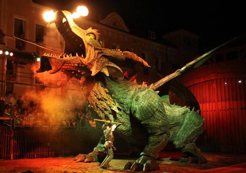Drachenstich - Deutschlands ältestes Volksschauspiel