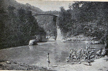 Die Ennsbrück vor 1950