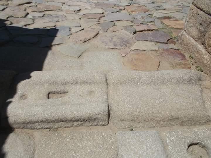 Umbral del anfiteatro de Mérida, Badajoz.