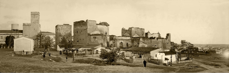 Alcazaba de Badajoz, 1927.