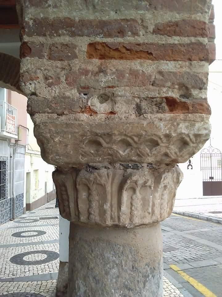 Cimacio visigodo, plaza de San José, Badajoz.