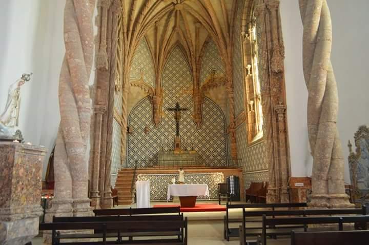 Monasterio de Jesús en Setubal, Portugal.