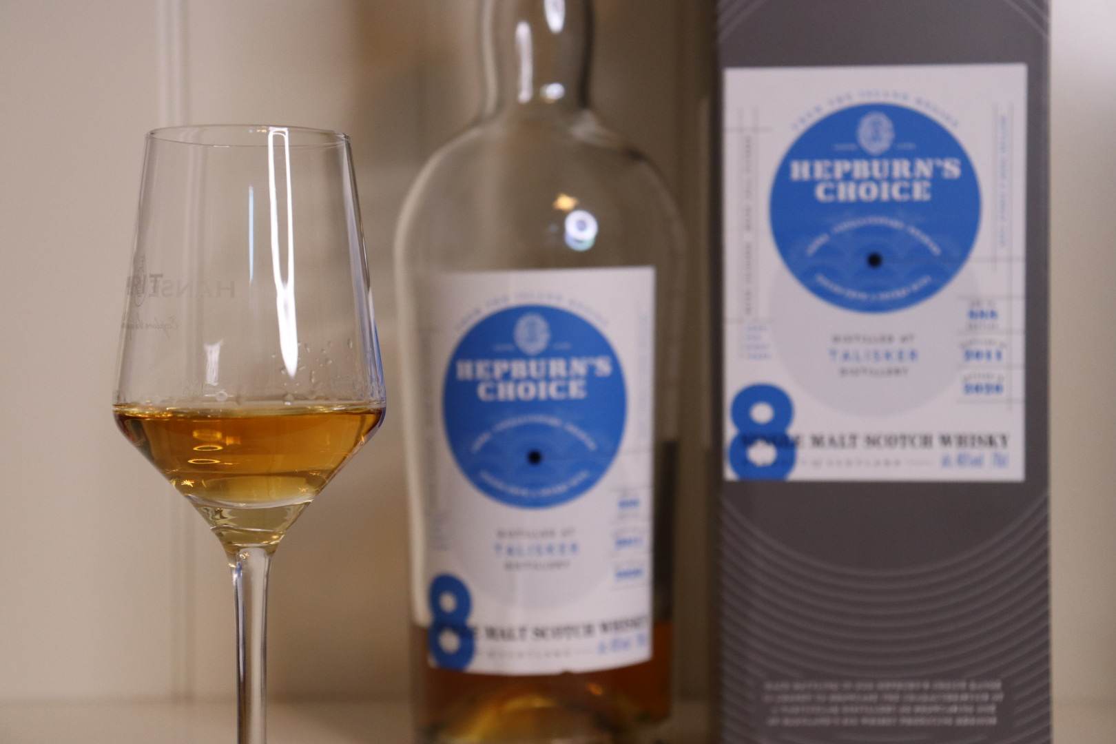 Whisky Review #188: Talisker 8 Jahre - Hepburn's Choice
